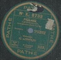 "114 ) 78 Tours 30cm PATHE 8733 "" PAILLASSE "" + "" PAILLASSE "" G. ANDOLFI - 78 G - Dischi Per Fonografi"