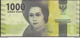 INDONESIA P154b 1000 RUPIAH 2016 #BAJ MICROPRINTED  DATE 2017  UNC. - Indonesien