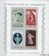 Luxembourg - Luxemburg , Timbres 1946 Bloc Caritas - Kriegsgeschädigte - Mutilés De Guerre  MNH ** - Blocs & Feuillets