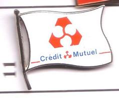 S11  Pin's BANQUE Bank Crédit Mutuel Qualité Arthus Achat Immédiat - Banks