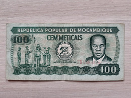 Mozambique - 100 Meticais - 16.06.1989 - Mozambique