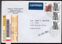 Deutschland - Brief - 2003 - Argentinien - A1RR2 - Cartas