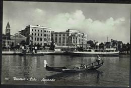 Ct - 1724 - Venezia - Lido - Approdo - Formato Piccolo - Venezia (Venice)