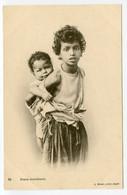 14/ CPA ALGERIE  84 Jeune Mendiante   J. Geiser Alger - Mujeres