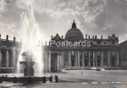Roma - Rome - Basilica Di San Pietro - St Peter Cathedral - 1962 - Italy - Italia - Used - San Pietro