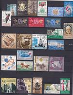 EG131Bis – EGYPTE – EGYPT – 1965 – YEAR SET – MI # 782-813 USED - Gebruikt