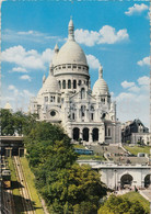 Paris - La Basilique Du Sacre Coeur - Cathedral - Funicular - 1968 - France - Used - Other