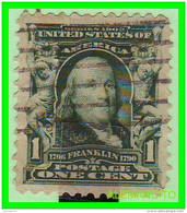 ESTADOS UNIDOS - UNITED STATES- ( AMERICA ) FRANKLIN  - SELLO  -  ONE CENT ... AÑO 1902 - America Centrale