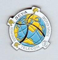 Pin' S  Ville, Mappemonde  FRANCE  TELECOM  TOULOUSE, ENTREPRISE  SEVA  ( 31 ) - France Telecom