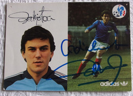 Patrick BATTISTON - Signé / Hand Signed / Dédicace Authentique / Autographe - Calcio