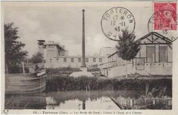 18   Torteron Les Bords Du Canal  - Usines A Chaux Et  A Ciment - Sonstige Gemeinden