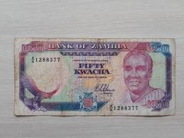 ZAMBIA 50 Kwacha 1989 - Zambia