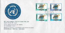 FDC Ethiopie 1994 Renard - Other