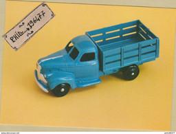 Camion Maraîcher Studebaker - Cpm / Modèle Réduit Dinky Toys. - Pubblicitari