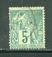 EX-COLONIES- Y&T N°49- Oblitéré - Alphée Dubois