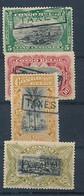 BELGIAN CONGO POSTAGE DUE 1909 ISSUE COB TX27/30 LH MET SCHARNIEREN CHARNIERES - Portomarken: Ungebraucht