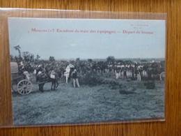 MOULINS -Allier- DEPART DU BIVOUAC - Andere