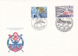 SOCIETE INTERNATIONALE DE SAUVETAGE DU LEMAN, Centenaire, 15/16 Juin 1985, St Gingolph - Other