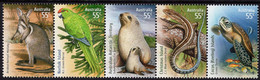 Australia - 2009 - Species At Risk - Joint Territories Issue - Mint Stamp Set (se-tenant Strip) - Nuevos