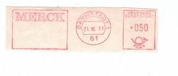 61 Darmstadt 1971 - Merck - Apotheek