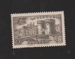 """FRANCE / 1939 / Y&T N° 445 ** : """"Touristique"""" (Verdun (Porte Chaussée) - Meuse) X 1 - Unused Stamps"""