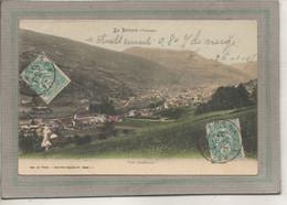 CPA (88) La BRESSE - Aspect Du Bourg Vue Générale Côté Usine En 1907 - Carte Colorisée - Otros Municipios
