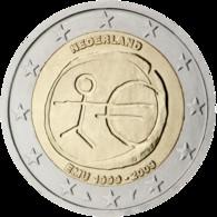Nederland 2 Euro 2009 - EMU - UNC - In Munthouder - Paises Bajos