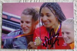Nafissatou THIAM - Dédicace - Hand Signed - Autographe Authentique  - - Athletics