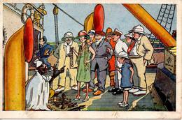 CPA , Illustrateur CH BOIRAU : En Afrique -  1933  (en Couleur) :  En Escale N° 5 - Africa