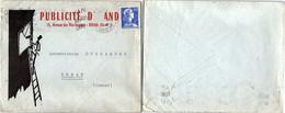 LETTRE PUBLICITAIRE PUBLICITE DUNAND - ROYAN 10.1.1958   / 1 - Brieven En Documenten
