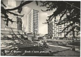 E3575 Sesto San Giovanni (Milano) - Rondò E Nuovo Grattacielo - Bus Autobus / Viaggiata 1956 - Sesto San Giovanni