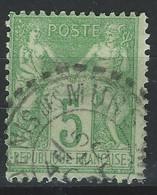 VV-/-776- N° 102, Obl. , Cote 3.00 € ,  VOIR IMAGE POUR  DETAIL, IMAGE DU VERSO SUR DEMANDE - 1876-1898 Sage (Type II)