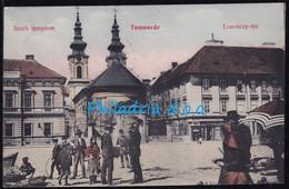 Temesvar Szerb Templom., Mailed Ca 1915 - Rumänien