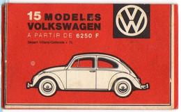 VW VOLKSWAGEN Coccinelle : Ancien Calendrier Publicitaire Perpétuel 1776 à 2000 - Tamaño Pequeño : 1941-60