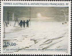 Ref. 256720 * NEW *  - FRENCH ANTARCTIC TERRITORY . 1995. FAREWELL TO THE SCIENTISTS OF CHARCOT STATION.. ADIOS A LOS C - Unused Stamps