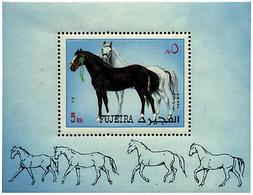 Ref. 68459 * NEW *  - FUJEIRA . 1972. HORSES. CABALLOS - Fujeira