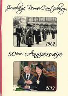 REIMS - MENU 50e ANNIVERSAIRE JUMELAGE REIMS CANTERBURY - Menus