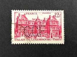 FRANCE C N°802 1948 C.C.F 64 Perforé Perforés Perfins Perfin Superbe !! - Gezähnt (Perforiert/Gezähnt)