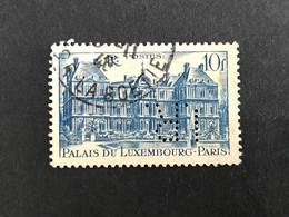 FRANCE I N° 760 1946 I.R 14 Indice 1 Perforé Perforés Perfins Perfin Superbe - Gezähnt (Perforiert/Gezähnt)