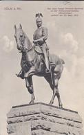 AK Cöln Am Rhein - Das Neue Kaiser Wilhelm Denkmal An Der Hohenzollernbrücke - 1911 (52779) - Koeln