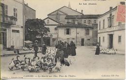 CAHORS  Marché Aux OIES, Place Du Théâtre - Cahors
