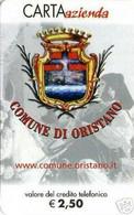 *CARTA AZIENDA 2° Tipo: COMUNE DI ORISTANO - Cat. 589* - NUOVA (MINT) (FT) - Unclassified