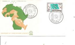 Drapeaux ( FDC Du Cameroun De 1962 à Voir) - Sobres