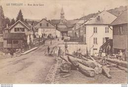 88) LE THILLOT : Rue De La Gare - Le Thillot