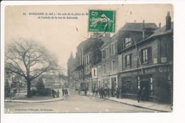 Carte De SAINT NAZAIRE  Magasin Coiffeur / Fournitures Pour La Marine  ( Les 3 Feuillets Se Décollent Sur 2 Coins ) - Saint Nazaire