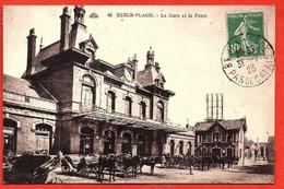 48. BERCK-PLAGE .  La Gare Et La Poste. - Berck
