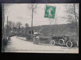 LES ALPES MANCELLES - Entrée De ST Leonard Des Bois Par Route De Fresnay - Saint Leonard Des Bois