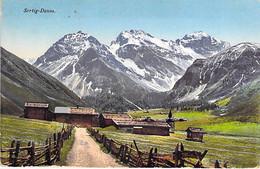 SUISSE Swiss ( GR Grisons ) SERTIG - DAVOS - Jolie CPA Colorisée 1916 - Switzerland Schweiz Zwitsers Suizo Suíço - GR Grisons