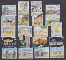 2002 à 2006  Capitales Européennes Séries Complètes Oblitérées Cote 24 € - Used Stamps