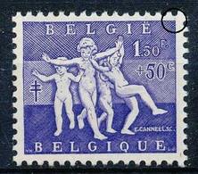 [71230]TB//**/Mnh-N° 982-cu - 1,50+50c Violet - Point Bleu Dans Le Coin Supérieur Droit - Oddities